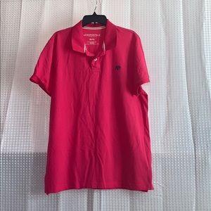 Aeropostale polo shirt classic A87 pink men's